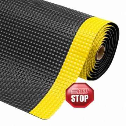 Covor ergonomic SKY TRAX - negru cu galben SKY TRAX Covor ergonomic