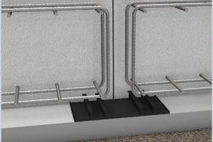 Profile de etansare pentru rosturi de lucru, profile de etansare cu garnitura hidrofilica integrata