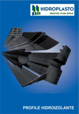 Profile de etansare pentru aplicatii de contact cu apa potabila HIDROPLASTO