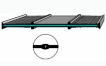 Profile de etansare pentru aplicatii de contact cu apa potabila Hidroizolatiile sau profilele hidroizolante interne HIDROPLASTO pentru rosturi de turnare in constructii cu armatura de otel interna de ranforsare sunt folosite pentru imbinari constructive in constructii de beton.