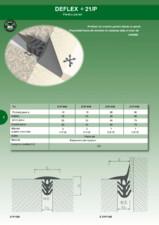 Profil de dilatatie pentru pereti HIDROPLASTO