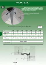 Profile dilatatie pereti, fatade HIDROPLASTO