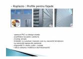 Profile PVC pentru fatade HIDROPLASTO