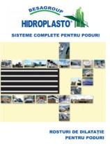 Rosturi de dilatatie pentru poduri HIDROPLASTO