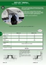 Profil de dilatatie impermeabil HIDROPLASTO