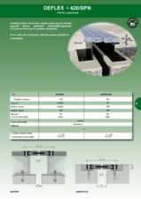 Profil de dilatatie pentru rosturi la pardoseli industriale HIDROPLASTO