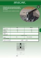 Profil de dilatatie pentru pardoseli HIDROPLASTO