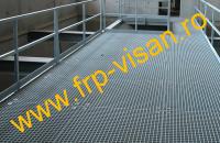 Gratare turnate din material compozit FRP - GRP pentru aplicatii industriale