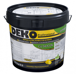 Vopsea lavabila pentru exterior DEKO Professional