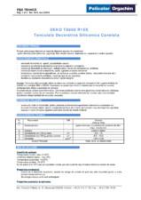 Tencuiala decorativa siliconica canelata - R15S DEKO Professional