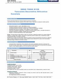 Tencuiala decorativa siliconica - R15S
