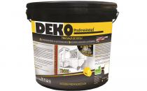 Tencuieli decorative pentru suprafete interioare si exterioare DEKO Professional va ofera o gama variata de tencuieli decorative pentru suprafete interioare si exterioare,au o rezistenta foarte buna la uzura, zgariere si socuri mecanice;durabilitate ridicata;
