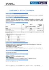 Componenta reflectorizanta pentru marcare rutiera DEKO Professional