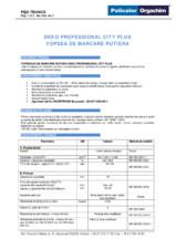 Vopsea de marcare rutiera VMR City Plus DEKO Professional