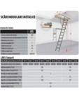 Scara metalica pentru acces pod FAKRO - LMS