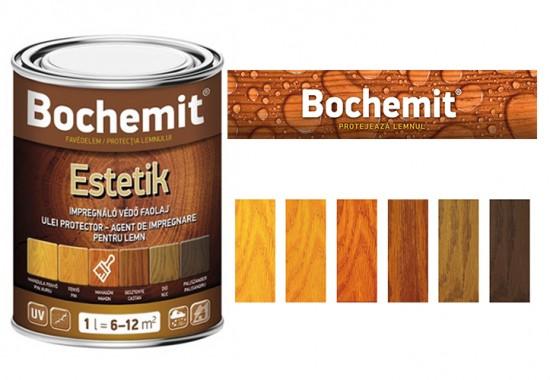 Lazura pe baza de ulei destinata impregnarii lemnului de interior si de exterior - BOCHEMIT