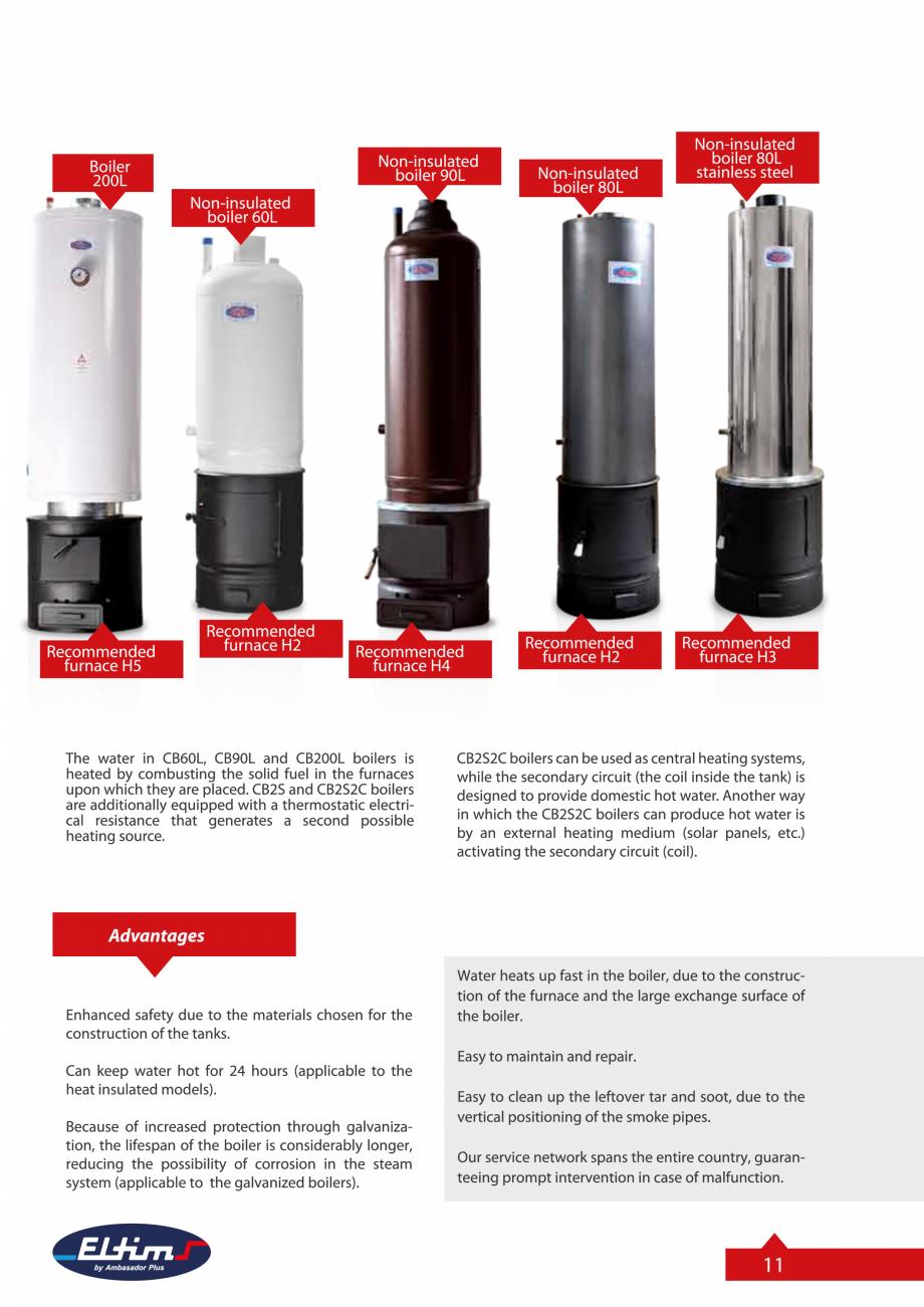 Pagina 11 - Catalog Eltim - Bunuri de larg consum  Catalog, brosura Engleza