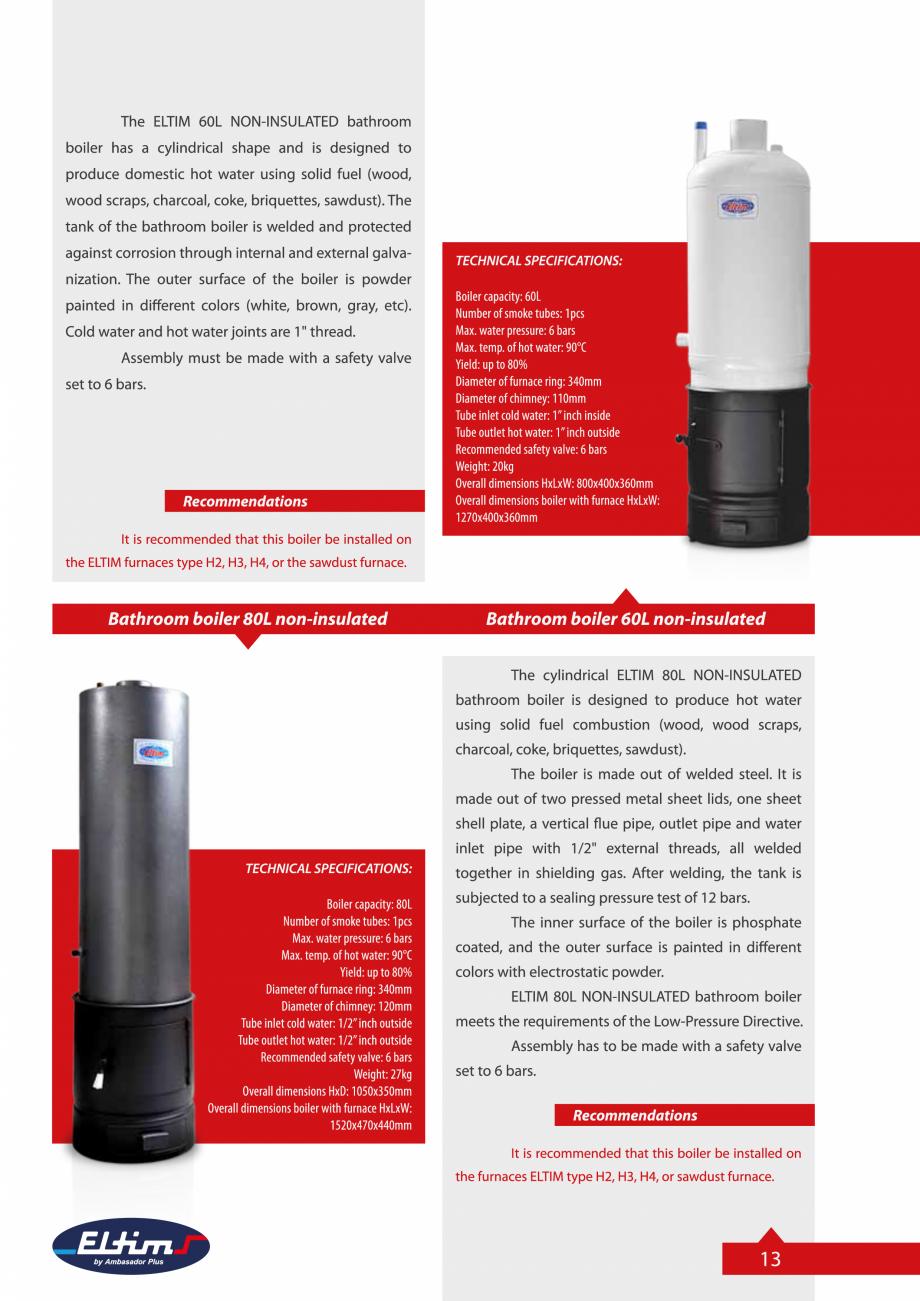 Pagina 13 - Catalog Eltim - Bunuri de larg consum  Catalog, brosura Engleza