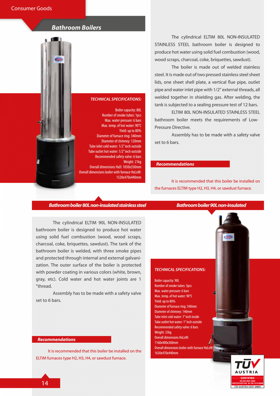 Pagina 14 - Catalog Eltim - Bunuri de larg consum  Catalog, brosura Engleza