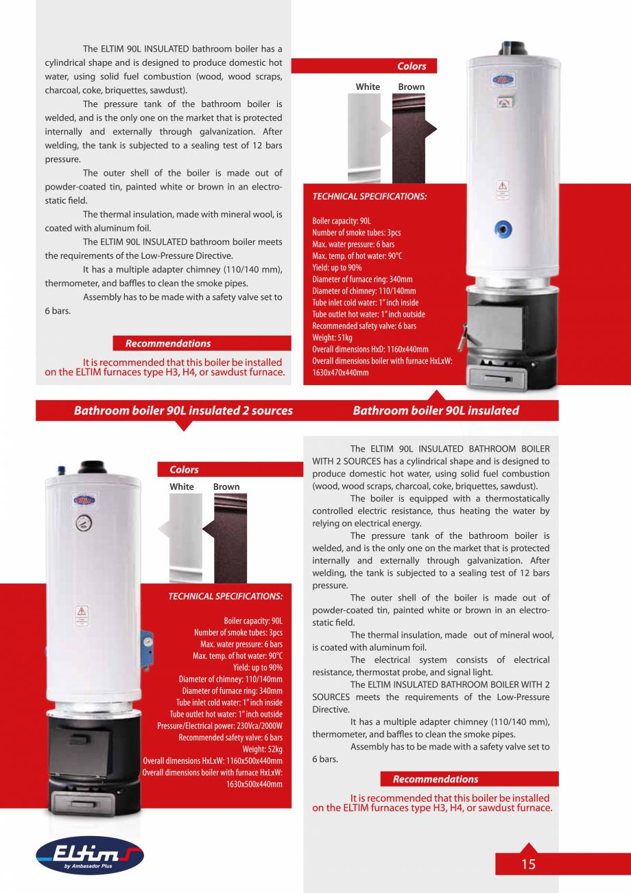 Pagina 15 - Catalog Eltim - Bunuri de larg consum  Catalog, brosura Engleza