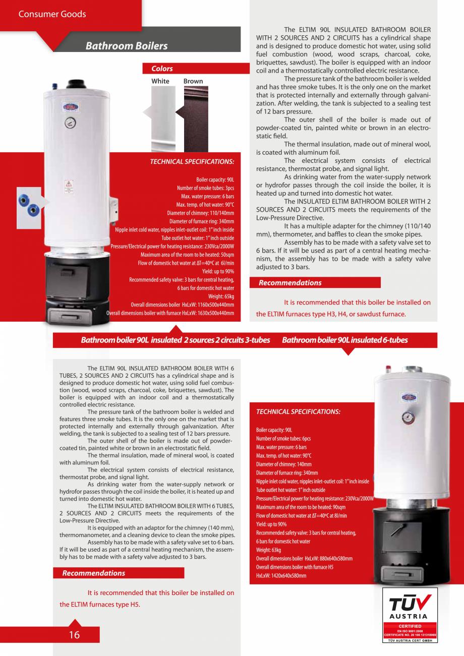 Pagina 16 - Catalog Eltim - Bunuri de larg consum  Catalog, brosura Engleza