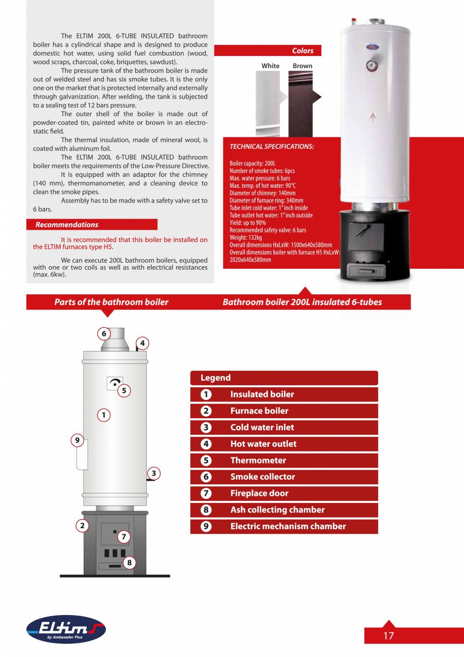 Pagina 17 - Catalog Eltim - Bunuri de larg consum  Catalog, brosura Engleza