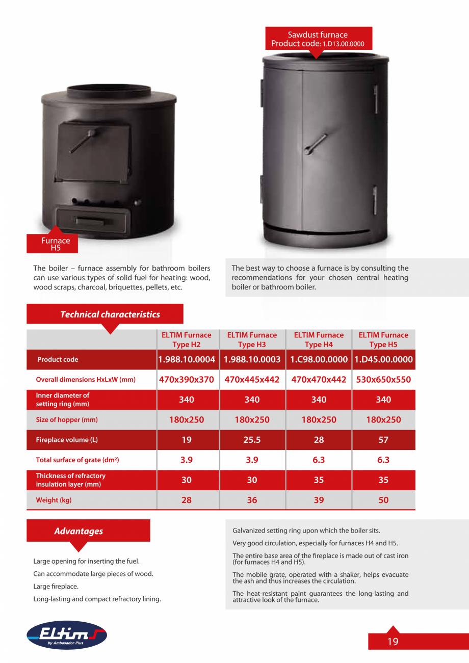 Pagina 19 - Catalog Eltim - Bunuri de larg consum  Catalog, brosura Engleza