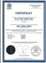 Certificat ISO 14001