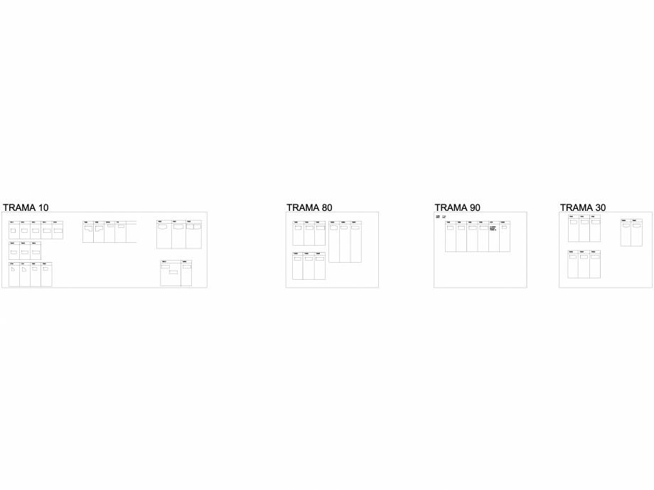 Variante masa Trama 10 pentru sali de conferinta si training 2D Trama Chairry Mobilier sali de conferinta CHAIRRY  - Pagina 1