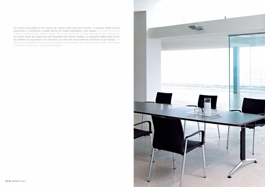Pagina 7 - Masa pentru sali de conferinta si training Chairry MO 012 Catalog, brosura Franceza   24...