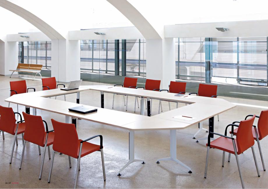 Pagina 14 - Masa pentru sali de conferinta si training Chairry MO 012 Catalog, brosura Franceza e...
