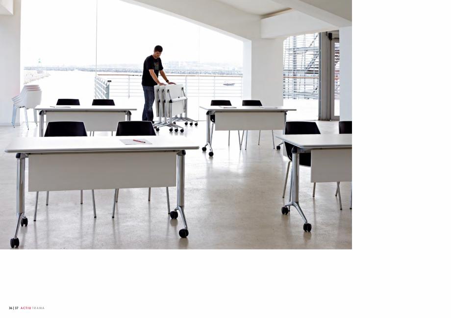 Pagina 19 - Masa pentru sali de conferinta si training Chairry MO 012 Catalog, brosura Franceza ...