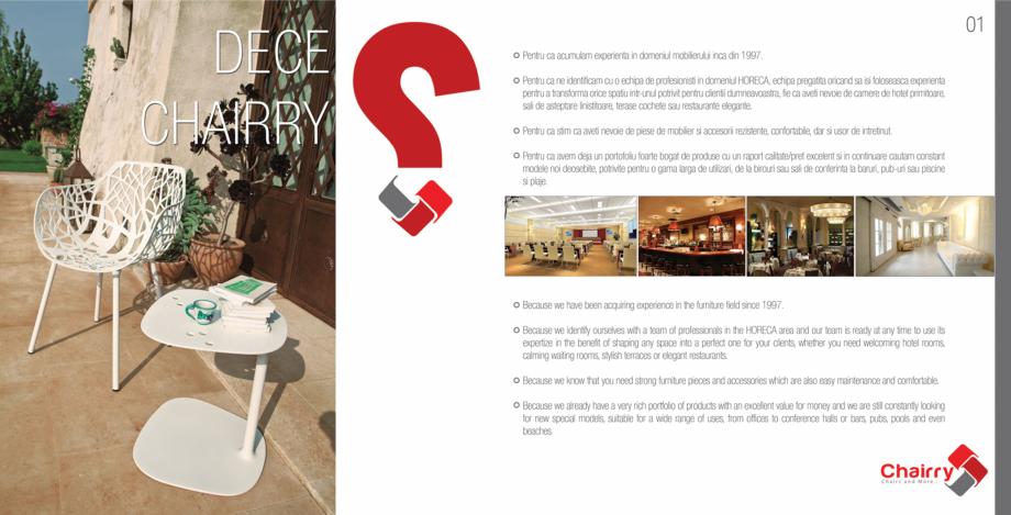 Pagina 2 - Piese de mobilier si accesorii Chairry M 039, SC 014, SM 156, SM 159, SM 274, SRP 522...