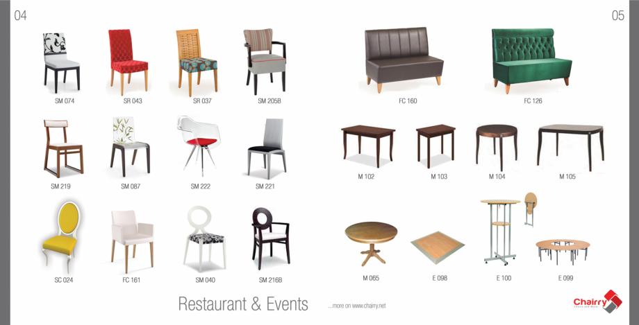 Pagina 4 - Piese de mobilier si accesorii Chairry M 039, SC 014, SM 156, SM 159, SM 274, SRP 522...