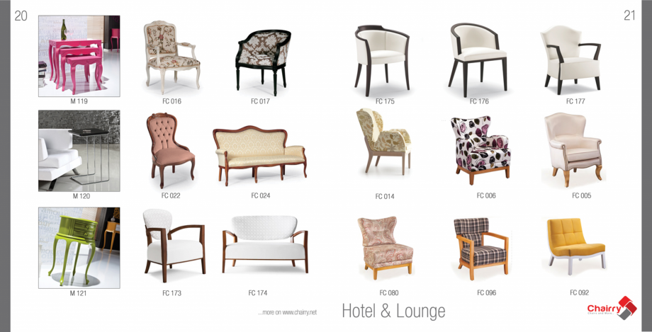 Pagina 12 - Piese de mobilier si accesorii Chairry M 039, SC 014, SM 156, SM 159, SM 274, SRP 522...