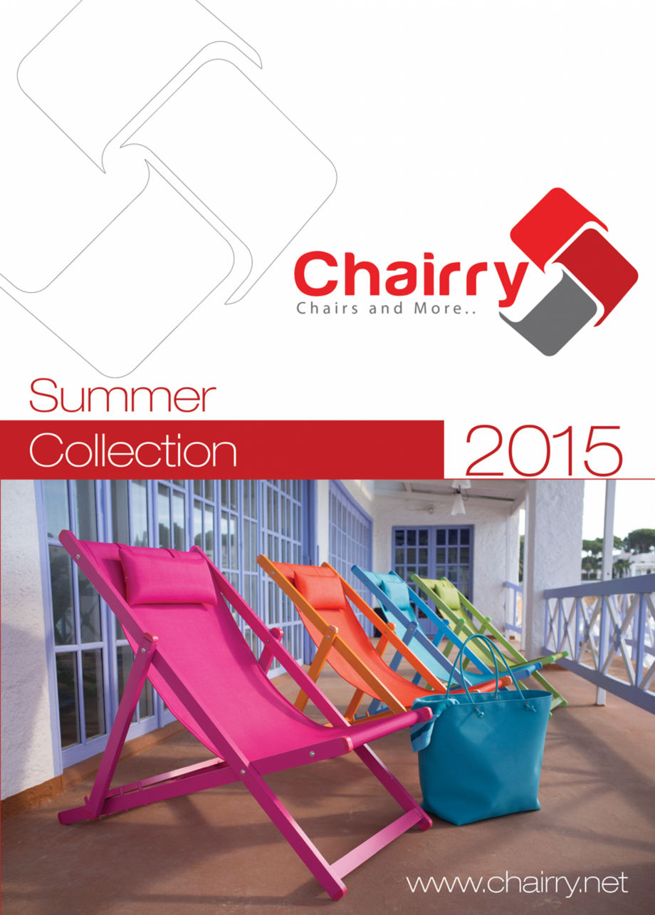 Pagina 1 - Piese de mobilier si accesorii - summer collection 2015 Chairry M 039, SC 014, SM 156, SM...