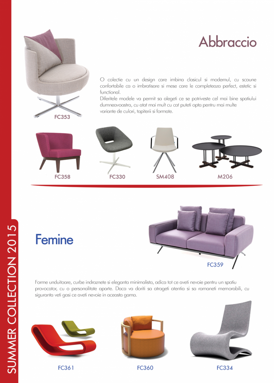 Pagina 2 - Piese de mobilier si accesorii - summer collection 2015 Chairry M 039, SC 014, SM 156, SM...