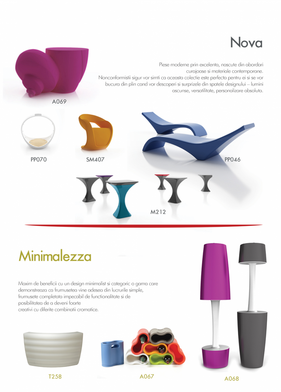 Pagina 3 - Piese de mobilier si accesorii - summer collection 2015 Chairry M 039, SC 014, SM 156, SM...