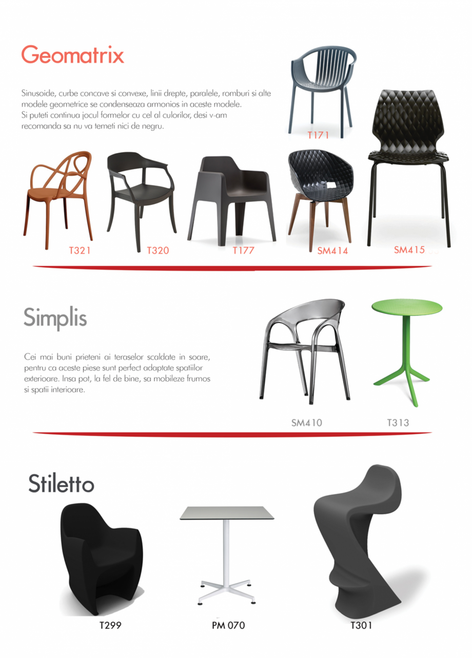 Pagina 5 - Piese de mobilier si accesorii - summer collection 2015 Chairry M 039, SC 014, SM 156, SM...