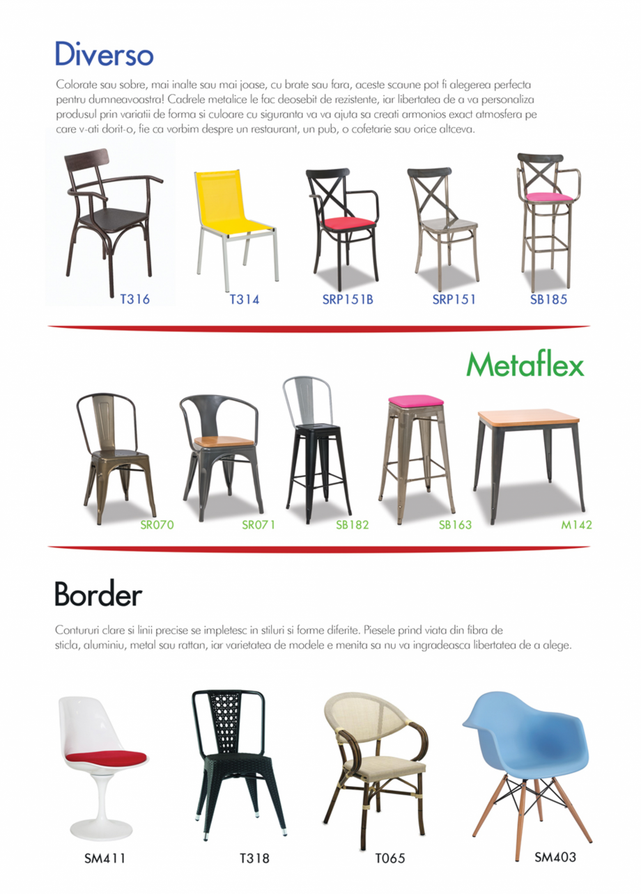 Pagina 7 - Piese de mobilier si accesorii - summer collection 2015 Chairry M 039, SC 014, SM 156, SM...