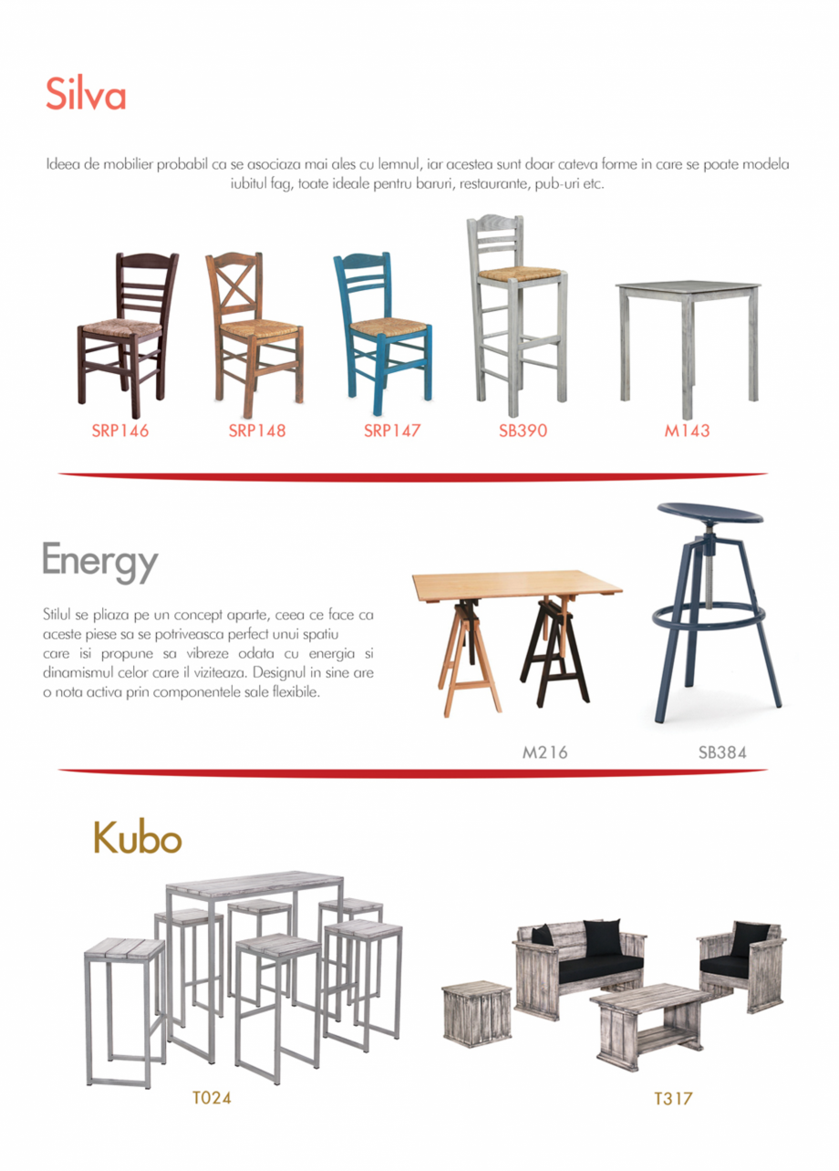 Pagina 9 - Piese de mobilier si accesorii - summer collection 2015 Chairry M 039, SC 014, SM 156, SM...