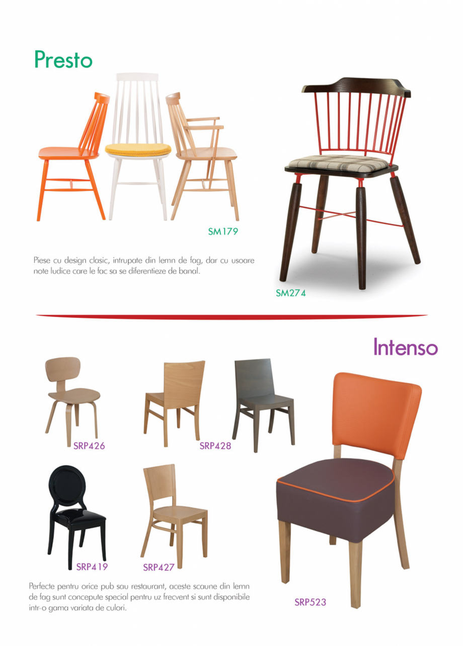 Pagina 13 - Piese de mobilier si accesorii - summer collection 2015 Chairry M 039, SC 014, SM 156,...
