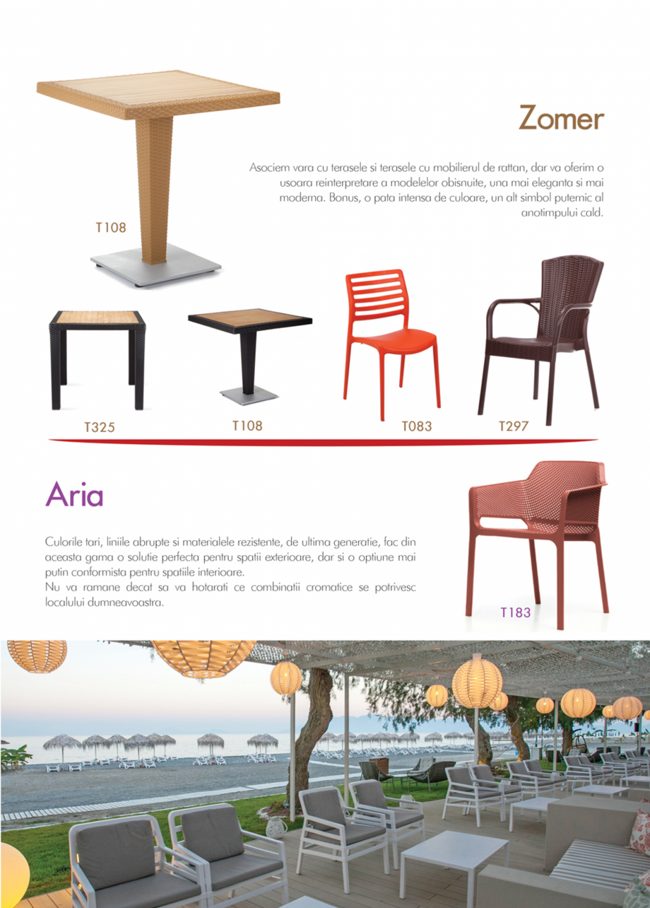 Pagina 15 - Piese de mobilier si accesorii - summer collection 2015 Chairry M 039, SC 014, SM 156,...