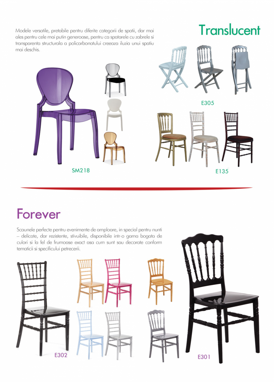 Pagina 17 - Piese de mobilier si accesorii - summer collection 2015 Chairry M 039, SC 014, SM 156,...