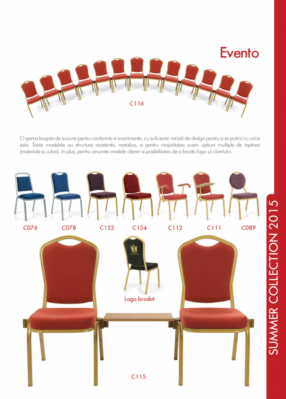 Pagina 19 - Piese de mobilier si accesorii - summer collection 2015 Chairry M 039, SC 014, SM 156,...