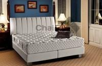 Saltele de pat pentru camere de hotel si pensiuni Saltelele Chairry cu tehnologia cu celule deschise asigura un somn neintrerupt. Temperatura corpului este echilibrata de catre structura macro-poroasa a materialului ce permite saltelei sa respire.