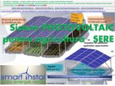 Sistem fotovoltaic pentru agricultura - Sere