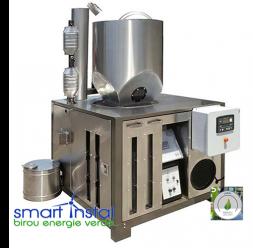 Sisteme de energie verde cu functionare pe biomasa si energie solara SMART INSTAL