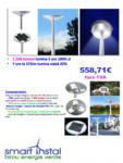 Lampi stradale cu LED SMART INSTAL - SSL-07, SSL-16, All-in-One