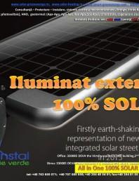 Iluminat exterior 100% SOLAR